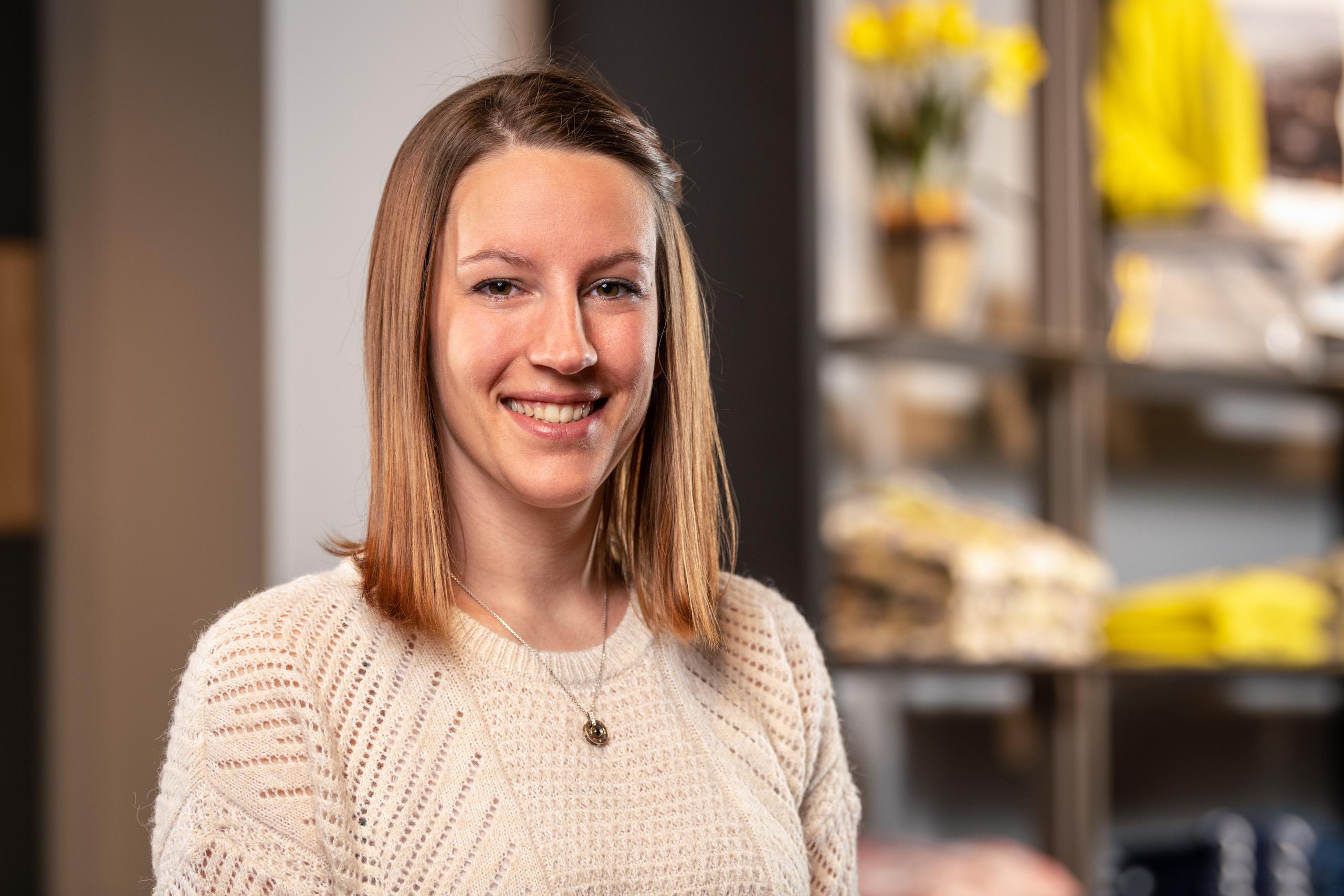 Kathrin Maier / Teamleiterin Wäsche